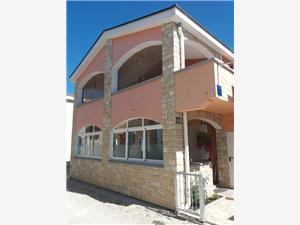Lägenheter Nemčić Nin, Storlek 50,00 m2, Luftavstånd till havet 150 m