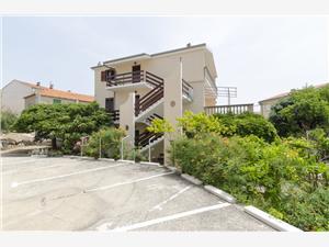 Lägenhet Milka Primosten, Storlek 50,00 m2, Luftavstånd till havet 250 m, Luftavståndet till centrum 190 m