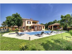 Villa Fatima Krnica (Pula), квадратура 250,00 m2, размещение с бассейном