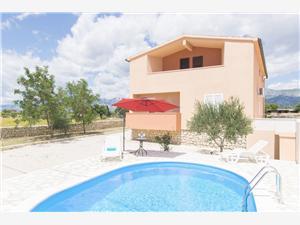 Dom Oasis of Peace Vinjerac, Powierzchnia 90,00 m2, Kwatery z basenem