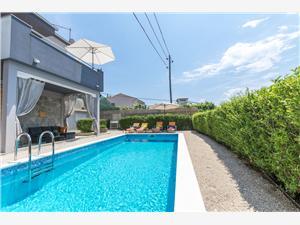 Dům Lisica Chorvatsko, Prostor 55,00 m2, Soukromé ubytování s bazénem