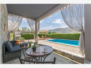Ház Lisica Horvátország, Méret 55,00 m2, Szállás medencével