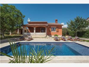 Villa Maria Betiga Fazana, Rozloha 105,00 m2, Ubytovanie sbazénom