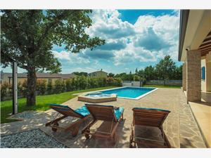 Villa Francesca III Zminj, Größe 280,00 m2, Privatunterkunft mit Pool