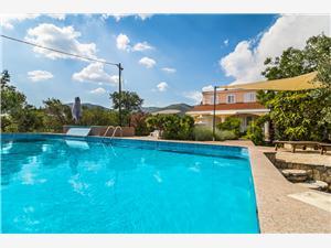Kuća za odmor Maria Kaštel Novi, Kvadratura 116,00 m2, Smještaj s bazenom