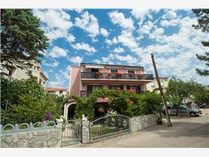 Apartman i Soba Marica Punat - otok Krk, Kvadratura 12,00 m2, Zračna udaljenost od centra mjesta 500 m