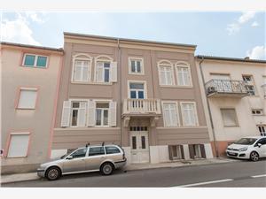 Апартамент Andres Crikvenica, квадратура 41,00 m2, Воздуха удалённость от моря 100 m, Воздух расстояние до центра города 200 m