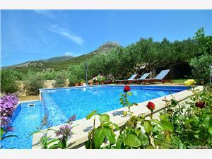 Accommodation with pool Cvitanić Bol - island Brac,Book Accommodation with pool Cvitanić From 220 €