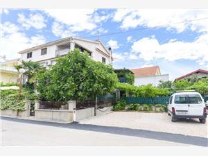 Apartmani Amalija Hrvatska, Kvadratura 40,00 m2, Zračna udaljenost od centra mjesta 600 m