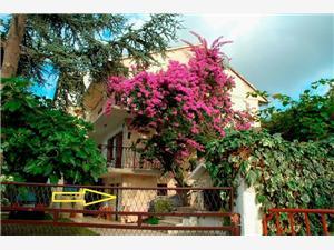 Апартамент Ribica Slatine (Ciovo), квадратура 35,00 m2, Воздуха удалённость от моря 30 m