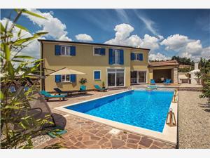 Villa Francesca II Žminj, Kvadratura 280,00 m2, Smještaj s bazenom