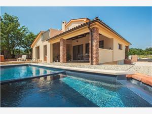 Villa Režanci Svetvincenat, Rozloha 136,00 m2, Ubytovanie sbazénom