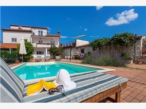 Villa Blauw Istrië,Reserveren Kujići Vanaf 346 €