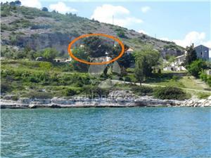 Ferienwohnungen Ratko Rakalj, Größe 70,00 m2, Luftlinie bis zum Meer 50 m