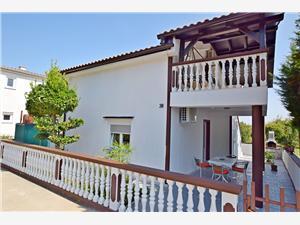 Апартамент Ruža Privlaka (Zadar), квадратура 46,00 m2, Воздух расстояние до центра города 700 m