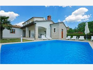 Villa Prima Porec, Kwadratuur 150,00 m2, Accommodatie met zwembad