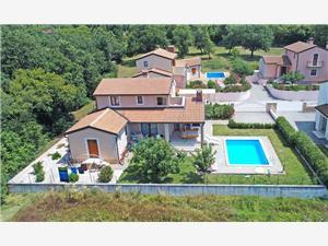 Villa Terza Porec, Kvadratura 150,00 m2, Namestitev z bazenom