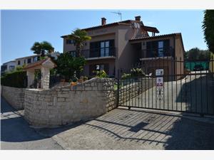 Apartmány a Pokoje Viktorija Modrá Istrie, Prostor 16,00 m2, Vzdušní vzdálenost od moře 100 m, Vzdušní vzdálenost od centra místa 400 m