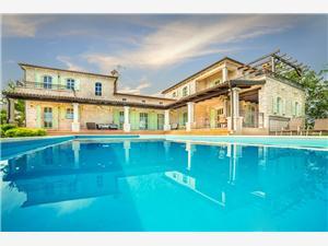 Vila Romana Zelená Istrie, Prostor 500,00 m2, Soukromé ubytování s bazénem