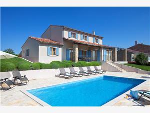 Villa WALKER Gornje Baredine, Kvadratura 180,00 m2, Smještaj s bazenom