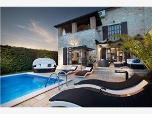 Villa ART Poreč, Kvadratura 200,00 m2, Smještaj s bazenom
