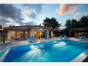Villa PRINCIPE Groznjan, квадратура 150,00 m2, размещение с бассейном
