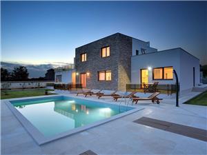 Willa Gigetto Medulin, Powierzchnia 160,00 m2, Kwatery z basenem