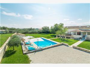 Vila Kata Zelená Istria, Rozloha 330,00 m2, Ubytovanie sbazénom