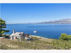 Kuća za odmor Svjetlana Postira - otok Brač, Kuća na osami, Kvadratura 42,00 m2