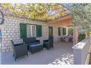 Hus Santa Barbara Postira - ön Brac, Storlek 43,00 m2, Luftavståndet till centrum 500 m