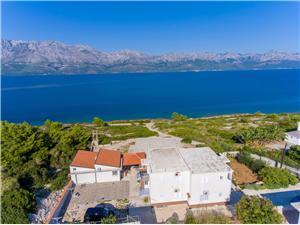 Apartmány Rose Strednodalmatínske ostrovy, Rozloha 45,00 m2, Vzdušná vzdialenosť od mora 60 m, Vzdušná vzdialenosť od centra miesta 300 m
