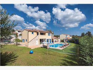 Villa Francesca IV Žminj, Kvadratura 280,00 m2, Smještaj s bazenom