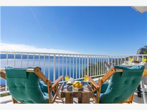Апартаменты Luxury view Ривьера Сплит и Трогир, квадратура 65,00 m2
