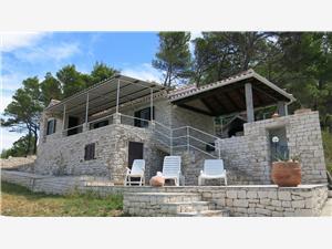 Huis Romantica Postira - eiland Brac, Stenen huize, Kwadratuur 45,00 m2