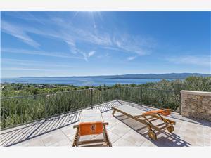 Kuća za odmor PETRIC Bol - otok Brač, Kvadratura 60,00 m2, Smještaj s bazenom