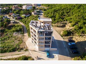 Ferienwohnungen DILARA Bar und Ulcinj Riviera, Größe 28,00 m2, Entfernung vom Ortszentrum (Luftlinie) 600 m