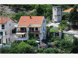 Апартаменты Boro Splitska - ostrov Brac, квадратура 110,00 m2, Воздуха удалённость от моря 20 m, Воздух расстояние до центра города 70 m