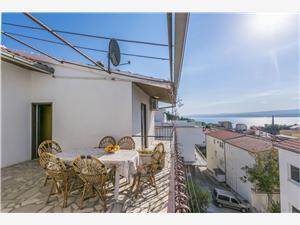 Appartementen Mario Omis, Kwadratuur 25,00 m2