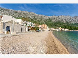 Apartman On the beach Igrane, Méret 20,00 m2, Légvonalbeli távolság 5 m, Központtól való távolság 10 m