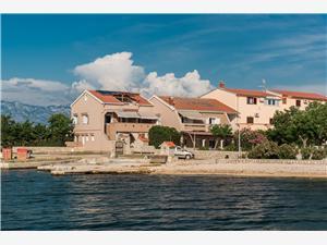 Апартаменты Ivan Pag - ostrov Pag, квадратура 60,00 m2, Воздуха удалённость от моря 20 m