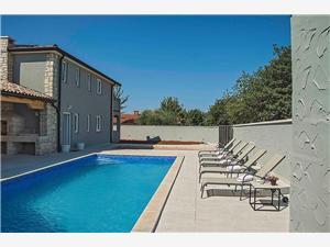 Villa Daisy Porec, Méret 160,00 m2, Szállás medencével