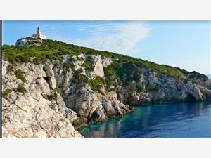 Beachfront accommodation South Dalmatian islands,Book Sušac From 104 €