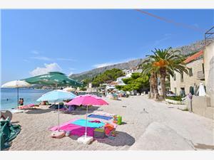 Ferienwohnungen Žanet Sumpetar (Omis), Größe 30,00 m2, Luftlinie bis zum Meer 30 m, Entfernung vom Ortszentrum (Luftlinie) 50 m