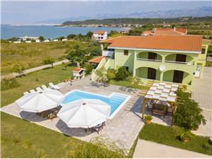 Beachfront accommodation Zadar riviera,Book Meri From 100 €
