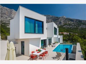 Vila Zvizdan Makarska rivijera, Kvadratura 200,00 m2, Smještaj s bazenom