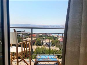 Appartement Fortica Karlobag, Kwadratuur 85,00 m2, Lucht afstand naar het centrum 300 m