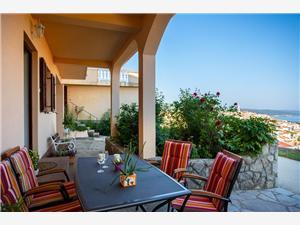 Appartamento Marinka Vrbnik - isola di Krk, Dimensioni 55,00 m2, Distanza aerea dal centro città 350 m