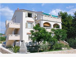 Apartmány A&M Stara Novalja - ostrov Pag, Prostor 43,00 m2, Vzdušní vzdálenost od moře 20 m