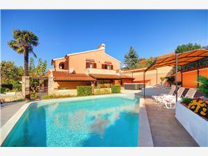 Villa Nicole Pula, Rozloha 220,00 m2, Ubytovanie sbazénom