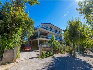 Lägenheter Pinty Jadranovo (Crikvenica), Storlek 55,00 m2